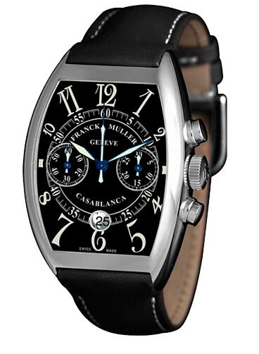FRANCK MULLER 8885 C CC DT ST Casablanca Steel Chronograph Replica Watch
