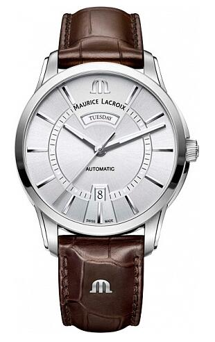 Maurice Lacroix Pontos Day Date PT6358-SS001-130-1 Replica Watch