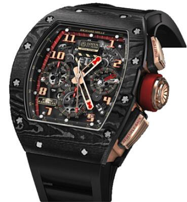 Richard Mille Replica Watch 511.04BH.91-1 RM 011 Lotus F1 Team-Romain Grosjean