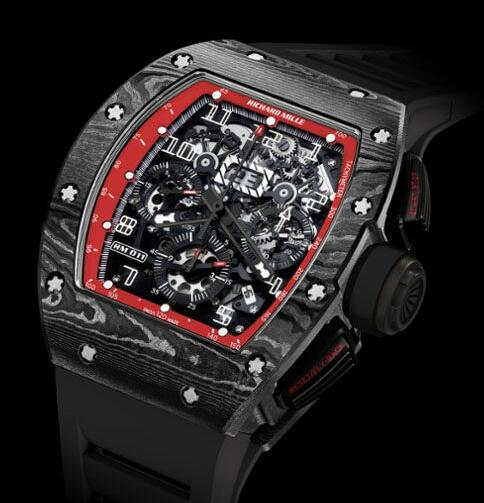 Richard Mille Replica Watch 511.72BJ.91-1 RM 011 NTPT Carbon Black Night