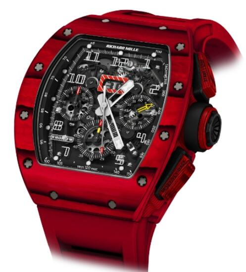 Richard Mille Replica Watch RM 011 Red TPT Quartz
