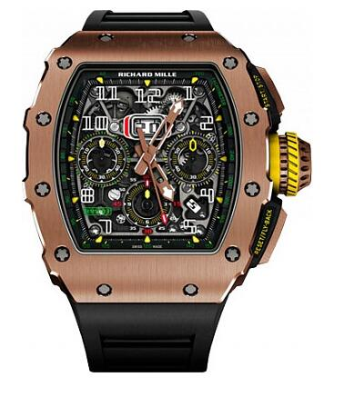 Richard Mille Replica Watch RM 11-03 Gold RM 011 AUTOMATIC FLYBACK CHRONOGRAPH