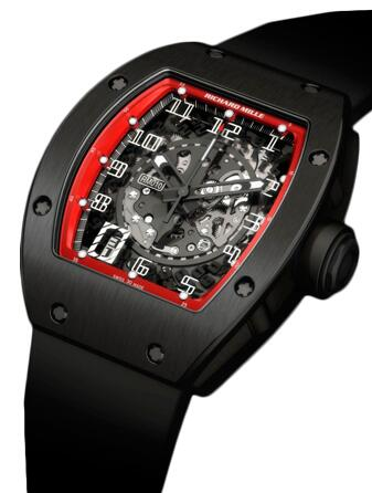 Richard Mille Automatic Declutchable Rotor RM 030 Black Night Replica Watch