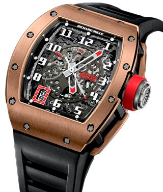 Richard Mille RM 030 Automatic Declutchable Rotor RM 030 Black Rose Replica Watch